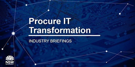 Procure IT Transformation - Industry Briefing (Virtual Event) tickets