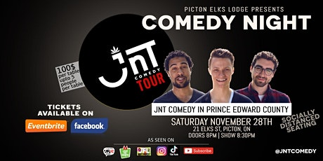 Comedy Night | JNT Comedy Tour at *venue changing because of new rules* tickets