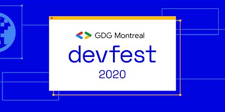 DevFest Montreal 2020 - Online tickets