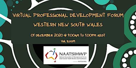 NAATSIHWP Western New South Wales Professional Development Virtual Forum tickets