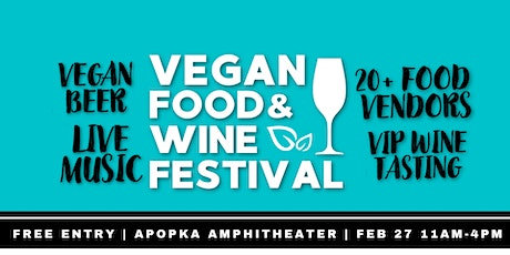 Vegan Food & Wine Festival tickets