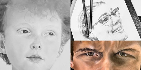 Drawing realistic portraits tickets