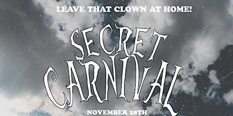 NOTB Secret Carnival Festival tickets