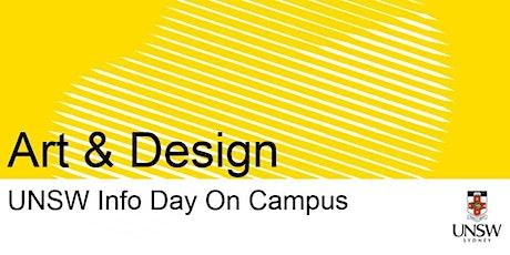 UNSW Info Day - Art & Design tickets
