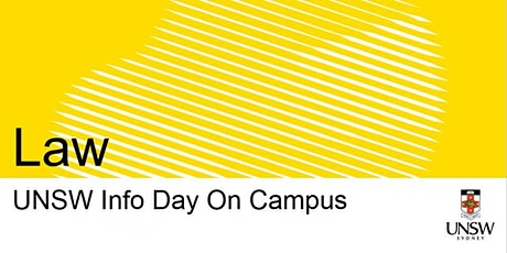 UNSW Info Day - Law tickets