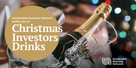 Sustainable Business Network  Christmas Investor Drinks tickets