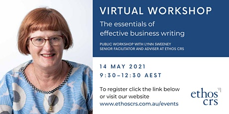 The essentials of business writing – May tickets