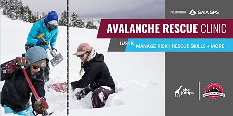 UT SheJumps Avalanche Rescue Clinic: Alta tickets