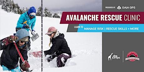 UT SheJumps Avalanche Rescue Clinic: Alta tickets