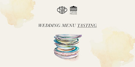 Alternate-Drop Wedding Menu Tasting tickets