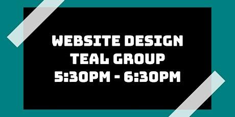 Website Design Class: Teal Group tickets