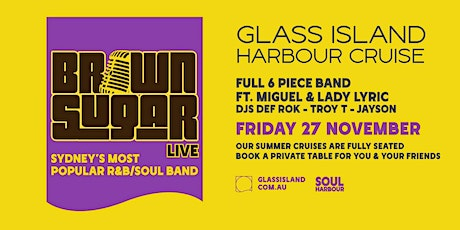 Glass Island - Brown Sugar LIVE - Friday 27th November tickets