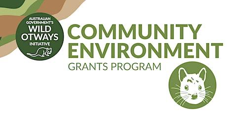 'Community Environment Grants Program' Information Session tickets