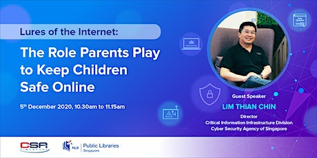 Lures of the Internet: The Role Parents Play to Keep Children Safe Online tickets