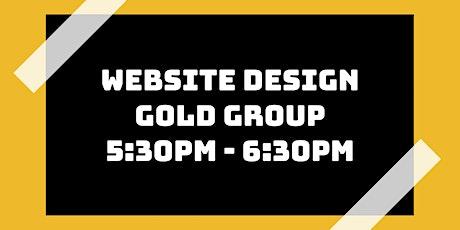 Website Design Class: Gold Group tickets