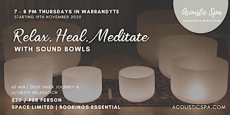 Sound Bath Meditation ~ Warrandyte tickets