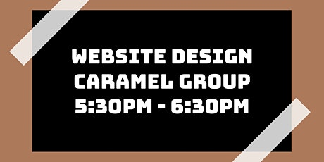 Website Design Class: Caramel Group tickets
