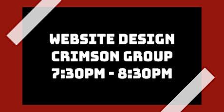 Website Design Class: Crimson Group tickets