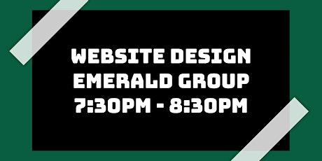 Website Design Class: Emerald Group tickets