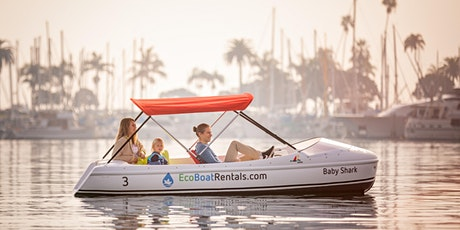 Eco Pedal Boat Rental in San Diego Bay tickets