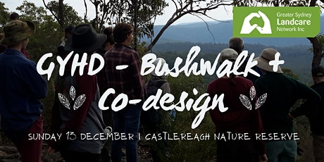 GYHD - Bushwalk and Co-design tickets