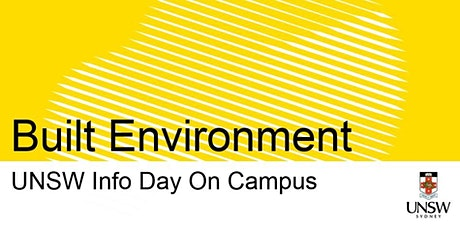 UNSW Info Day - Built Environment tickets