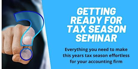 Getting ready for Tax Season tickets