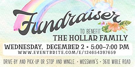 December Fundraiser Dinner to benefit the Hollar Family tickets