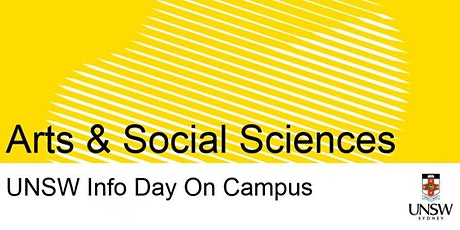 UNSW Info Day - Arts & Social Sciences tickets