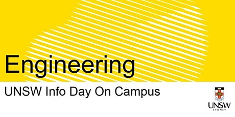 UNSW Info Day - Engineering tickets