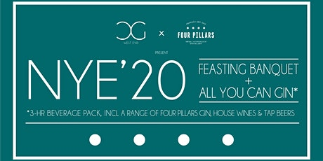 All You Can Gin NYE'20 w/ 4-Course Feasting Banquet Dinner tickets