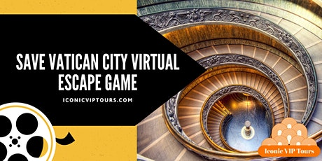 Save Vatican City Virtual  Escape  Game tickets