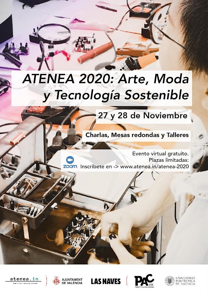 Imagen de ATENEA 2020:  Arte, Tecnología y Moda Sostenible