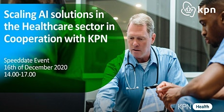 Scaling AI Healthcare Solutions in cooperation with KPN tickets
