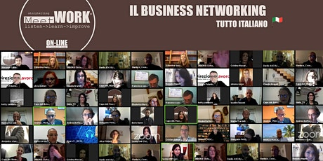 Meet&WORK ON-LINE in Breakout Room 09/12/2020 biglietti