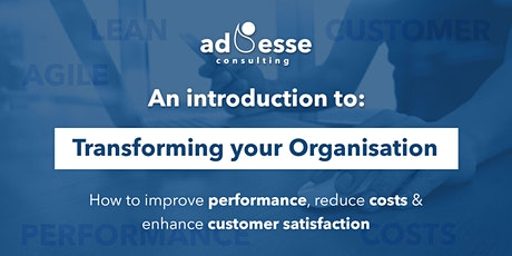 Improve performance, reduce costs and enhance the customer experience tickets