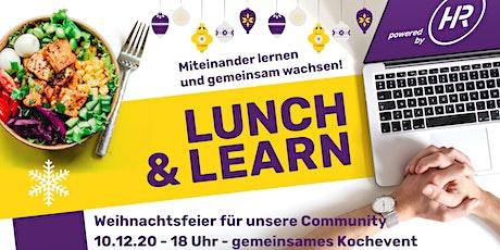 Weihnachtsfeier Lunch & Learn Community Tickets