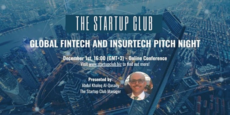 Global FinTech and InsurTech Pitch Night tickets