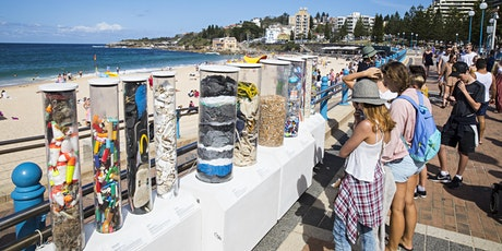 Plastic Ecology Plinths Display at Coogee Beach tickets