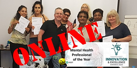 Online MHFA Mental Health First Aider (Adult) Full Qualification (Evenings) tickets