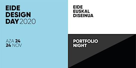 EIDE DESIGN DAY 2020 | Portfolio Night entradas
