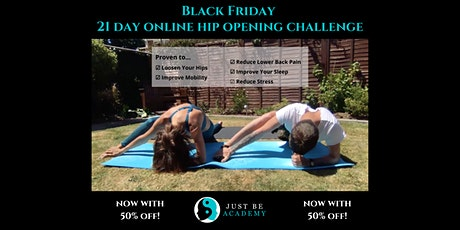 Black Friday 21 Day Online Hip Opening Challenge tickets
