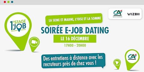 E-Job Dating Oise, Seine-et-Marne et Somme  : décrochez un emploi ! billets