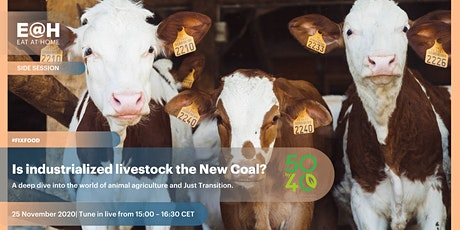 Is industrialised livestock the New Coal? tickets