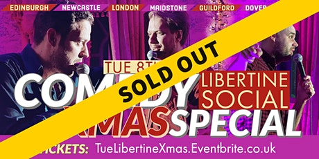 Comedy Christmas Special at The Libertine, Worthing!! tickets