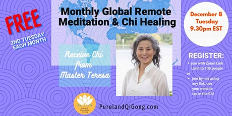Online: Global Remote Healing and Meditation with Master Teresa tickets