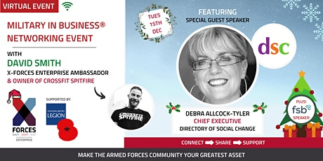Military in Business Virtual Networking Event: Festive Edition tickets