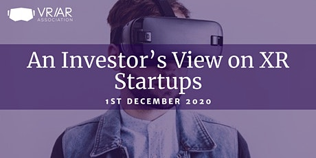 The VRARA presents: An Investor's View on XR Startups tickets