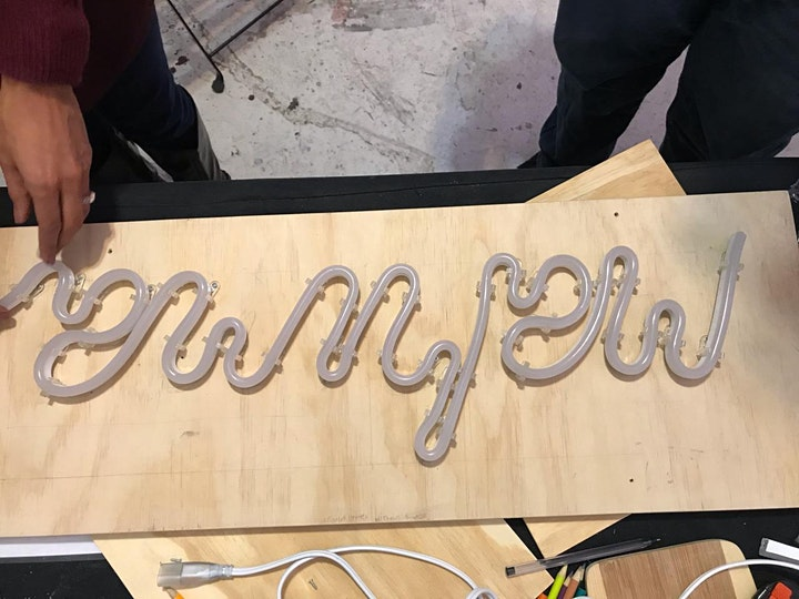 FUN AND NEON SIGN MAKING (Sustainable Energy) image