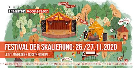 Festival der Skalierung vom openTransfer Accelerator Tickets